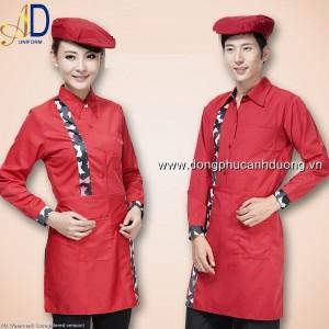 Đồng phục tạp vụ 09 – Đồng phục nhà hàng khách sạn tại Hà Nội