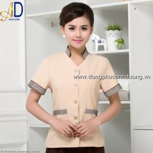 Đồng phục tạp vụ 10 – Đồng phục nhà hàng khách sạn tại Hà Nội