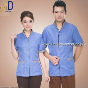 Đồng phục tạp vụ 12 – Đồng phục nhà hàng khách sạn tại Hà Nội