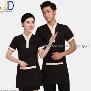 Đồng phục tạp vụ 14 – Đồng phục nhà hàng khách sạn tại Hà Nội