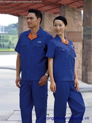Đồng phục bảo hộ lao động 01 | may bảo hộ lao động tại Hà Nội