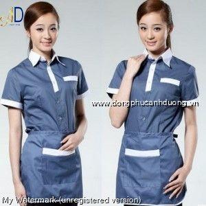 Đồng phục tạp vụ 22 – Đồng phục nhà hàng khách sạn tại Hà Nội