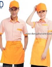 Đồng phục phục vụ bàn 14 – Đồng phục nhà hàng khách sạn tại Hà Nội