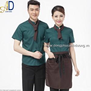 Đồng phục tạp vụ 21 – Đồng phục nhà hàng khách sạn tại Hà Nội