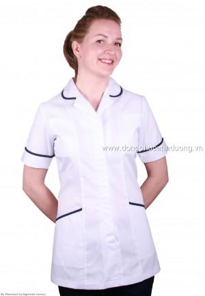 Đồng phụ tạp vụ 08 | đồng phục tạp vụ tại Hà Nội