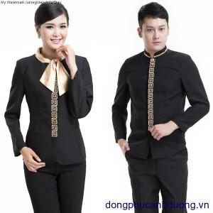 Đồng phục lễ tân khách sạn 02 | Đồng phục lễ tân khách sạn tại Hà Nội