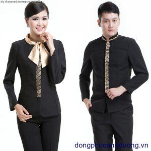 Đồng phục lễ tân khách sạn 02   Đồng phục lễ tân khách sạn tại Hà Nội