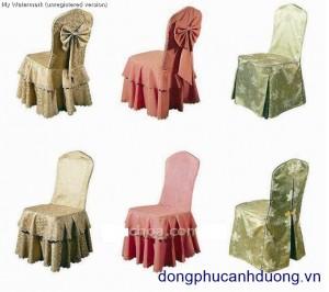 bọc ghế, bọc bàn, khăn bàn 004