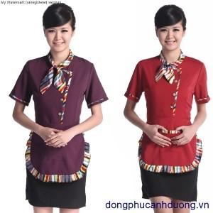 Đồng phục phục vụ bàn 06 – Đồng phục nhà hàng khách sạn tại Hà Nội