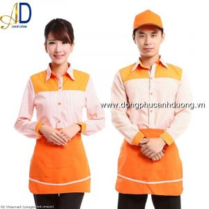 Đồng phục phục vụ bàn 18 – Đồng phục nhà hàng khách sạn tại Hà Nội