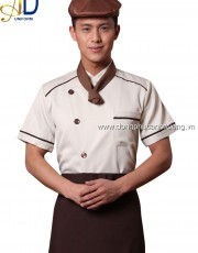 Đồng phục áo bếp 16   may áo bếp tại Hà Nội