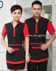 Đồng phục phục vụ bàn 24 – Đồng phục nhà hàng khách sạn tại Hà Nội