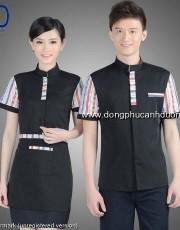 Đồng phục phục vụ bàn 25 – Đồng phục nhà hàng khách sạn tại Hà Nội