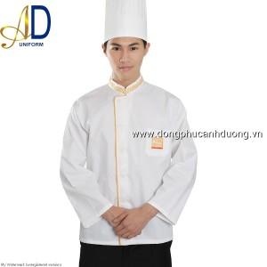 Đồng phục áo bếp 06   may áo bếp tại Hà Nội