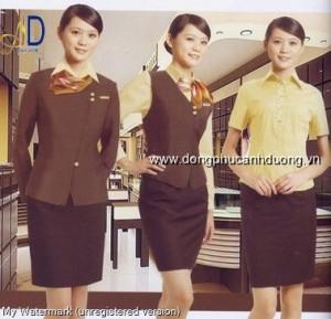 Đồng phục lễ tân khách sạn 09   Đồng phục lễ tân khách sạn tại Hà Nội