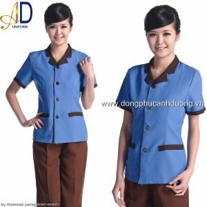 Đồng phục tạp vụ 18 – Đồng phục nhà hàng khách sạn tại Hà Nội