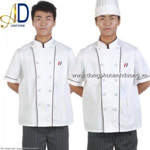 Đồng phục áo bếp 09   may áo bếp tại Hà Nội